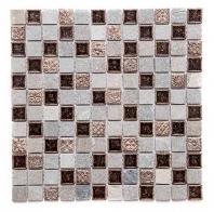 Merola Cristallo Noce Tile G-319