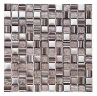 Merola Crosshatch Cappuccino Tile G-402