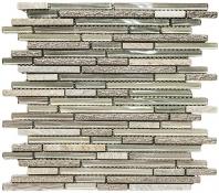 Merola Giardino Peltro Interlocking Tile G-806