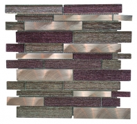 Merola Galaxy Bronze Brick Interlocking Tile G-133