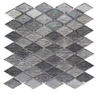 Merola Galaxy Silver Rhombus Tile G-153