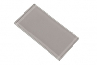 Merola Gotham 3x6 Light Grey Subway Tile G-835