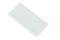 Merola Gotham 3x6 Super White Subway Tile G-831