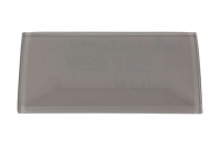 Merola Gotham 4x8 Light Grey Subway Tile G-815