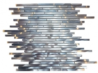 Merola Metallic Sleek Sky Interlocking Tile G-323