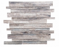 Merola Sherwood Mixed Linear Ash Wood Look Tile MER-SHER-ASH-MX