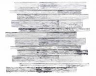 Merola Sherwood Mixed Linear Silver Wood Look Tile MER-SHER-SLV-MX