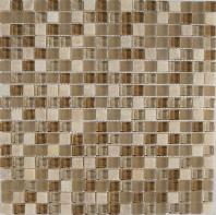 Merola Vetro Marmi Glass 5/8x5/8 Beige Tile G-309