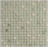 Merola Vetro Marmi Glass 5/8x5/8 Mint Green Tile G-292