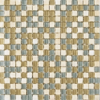 Merola Vetro Marmi Glass 5/8x5/8 Ocean Sand Tile G-258