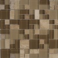 Merola Victoria Glass Modular Beige Tile G-301