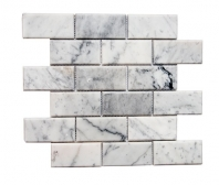 Reflection Arctic Glam Beveled Mirror Subway Tile Soho