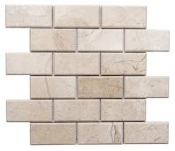 Merola Beveled Crema Marfil Subway Tile MER-CR-MRFL