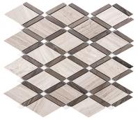 Merola Diamante Athens Grey Tile MER-DIA-GREY