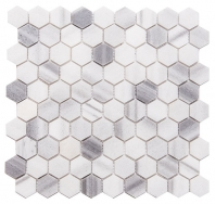 Merola Hex Marmara Tile MER-HEX-MAR