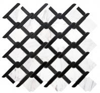 Merola Rope Volakas & Black Tile MER-ROPE-VOL