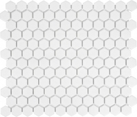 Anatolia Soho 1 Hexagon White Matte AC51-070
