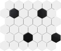 Anatolia Soho 2 Hex Matte White W/Black AC51-076