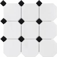 Anatolia Soho 4 Octagon/Dot White W/Black Matte AC51-095