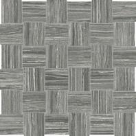 Anatolia Eramosa 2x2 Basketweave Carbon Mosaic AC69-230