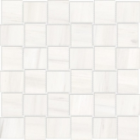 Anatolia Mayfair 2x2 Basketweave Suave Bianco Polished AC69-953
