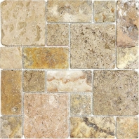 Anatolia Travertine Roman Pattern Scabos Tumbled AC76-347
