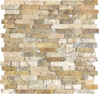 Anatolia Travertine 5/8 Random Scabos Tumbled AC76-348