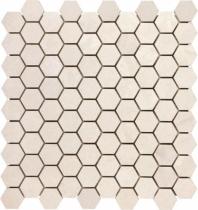 Anatolia Lime 1x1 Hexagon Polished Serene Ivory AC76-440