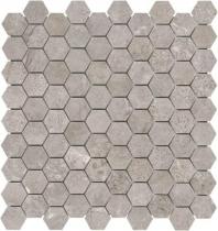 Anatolia Marble 1x1 Hexagon Polished Ritz Gray AC76-477