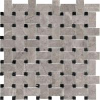 Anatolia Marble Basketweave Honed Ritz Gray AC76-481