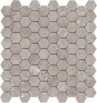 Anatolia Marble 1x1 Hexagon Honed Ritz Gray AC76-482