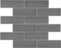 Anatolia Brick 2x6 Mosaic Stainless Steel AC79-155