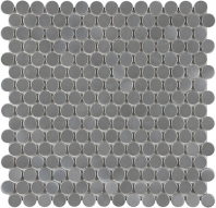 Anatolia Penny Round Mosaic Stainless Steel AC79-157
