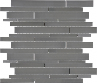 Anatolia Random Strip Mosaic Stainless Steel AC79-159
