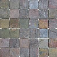 Anatolia Slate 2x2 Tumbled Multicolor ACIS200