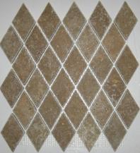 Anatolia Travertine 2x2 Diamond Brown ACMS771