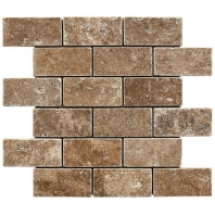 Anatolia Travertine 2x4 Tumbled Brown ACMS841