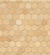 Alys Edwards Hexagon 1x1 Mosaic Brioche AECMODBRHEX