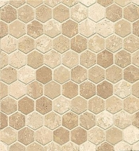 Alys Edwards Hexagon 1x1 Mosaic Chantarelle AECMODCTHEX