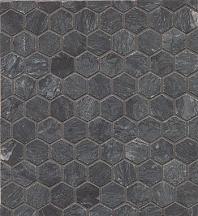Alys Edwards Hexagon 1x1 Mosaic Flannel AECMODFLHEX