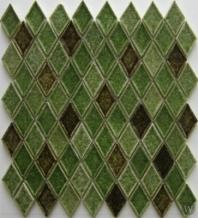 Arvex Crackled Glass Rhomboid ARHV25