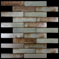 Milstone Lava Zanzibar 1x6 Interlocking Mosaic Tile ML98112515
