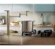 Danze Parma Single Handle Deck Mount Pot Filler Stainless Steel