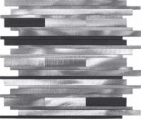 Random Metal Aluminum Mosaic Tile JAFD3