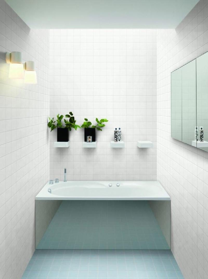 White Square X Porcelain Mosaic Tile Matte JBTPM Home Decor AZ - 4x4 bathtub