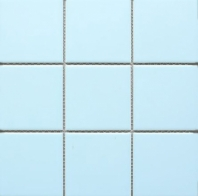 Soft Cloud Matte Square 4x4 Porcelain Mosaic Tile JBTPM11