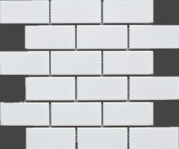 Matte 2x4 Brick Porcelain Mosaic Tile