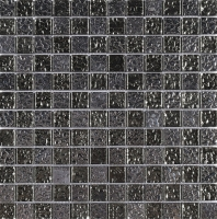 Shinning Black Square Glass Mosaic Tile JGEM3