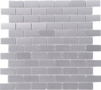 Stainless Steel Brick Mosaic Tile JSSL1