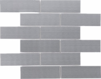 Stainless Steel Brushed Mosaic Tile JSSL2
